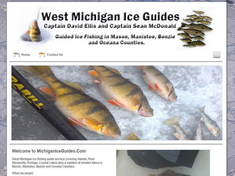 West Michigan Ice Guides